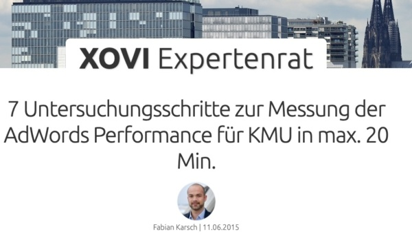 Fabian Karsch XOVI Expertenrat